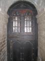 Senās hospitāļa durvis