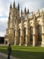 Deivids aplūko katedrāli