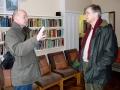 Deivids sarunājas ar prāvestu Andri