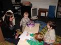 Bērniem dievkalpojuma laikā notiek Svētdienas skoliņa