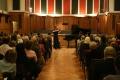 Svētku koncerts, vijoli spēlē Kristīne Balanas
