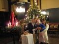 Kristīne, Lauma un bērniņš pie Ziesmvētku eglītes