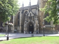 Greznā Bristoles katedrāles ieeja