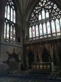 Viena no katedrāles vitrāžām