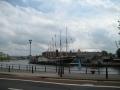 Pa ceļam ieraugām kuģi Brunela Lielbritānija