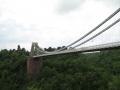 Nākamais apskates objekts ir Kliftonas vanšu tilts