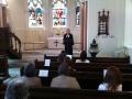 Dievkalpojumu vada draudzes mācītāja Elīza Zikmane