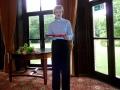 Māc. Elīza Zikmane mājās no Latvijas. Draudzei garšīga dāvāna no mūsu māsu draudzes Zaļās draudzes Zaļeniekos.