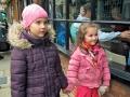 Bērniņi bija saģērbušies atbilstoši laika apstākļiem