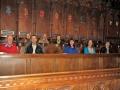 Vakarā piedalījāmies Solsberijas katedrāles Evensong lūgšanās