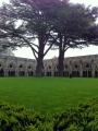 Katedrāles pagalmā