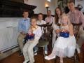 Fēliks un Luīze ar ģimeni