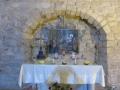 Altārs Sinagogas baznīciņā, kur kādreiz atradās Nāceretes sinagoga
