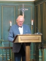 Māris Slokenbergs - draudzes dibinātāja mācītāja Roberta Slokenberga dēls
