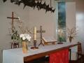 Trīsvienības luerāņu baznīcas altāris