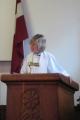 Sprediķo draudzes mācītāja Elīza Zikmane