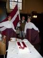 Latvijas gadadienai veltīts dievkalpojums Sv. Annas un Sv. Agneses baznīcā Londonā 2008. gada novembrī.
