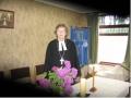 Draudzes mācītāja Gita Putce Anglikāņu centrā