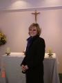 Māc. Elīza Zikmane slimnīcas kapelā