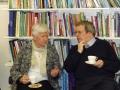Benita Līkuma sarunā ar ērģelnieku Klaivu Viliamsu (Clive Williams)