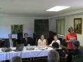 Apv. Londonas latviešu un Miera draudzes piekšnieces vietnieces Ritas Rumbas ziņojums