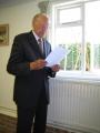 Mančesteras draudzes ziņojumu lasa priekšnieks Emīls Eglītis