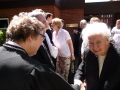Māc. Gita Putce sasveicinās ar Liliju Veperi