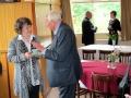 Tuvumā māc. Dr. Ilze Ķezbere-Härle un prāv. emeritus Juris Jurģis. Tālumā māc. Viesturs Vāvere un māc. Elīza Zikmane.