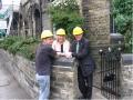 Bradfordā baznīcas remontdarbi tuvojas nobeigumam (2009.g. jūnijā)